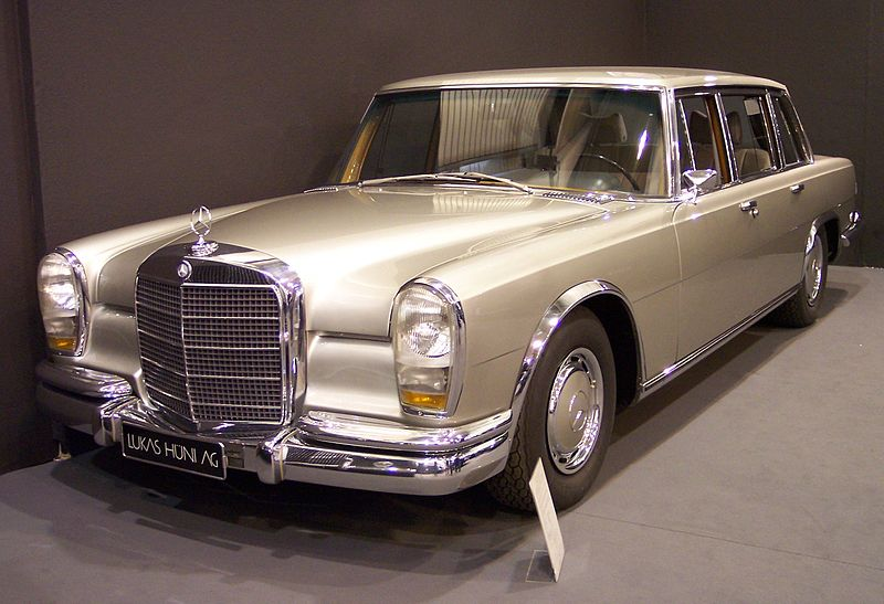 1967 Mercedes-Benz 600 vl silver TCE