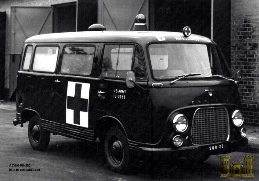 1968 Ambulance Ford Taunus 800