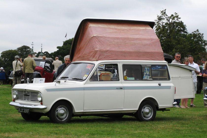 1968 Bedford Beagle based Dormobile motorhome conversion 1159cc