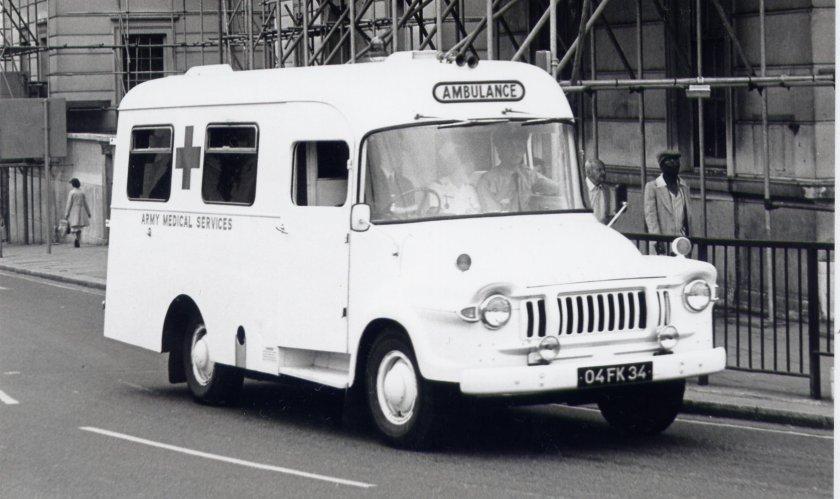 1968 Bedford J1 Lomas Ambulance (04 FK 34).