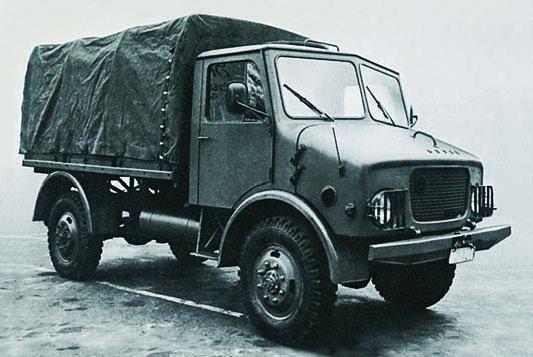 1968 ÖAF НА-2-90 Husar, 4x4