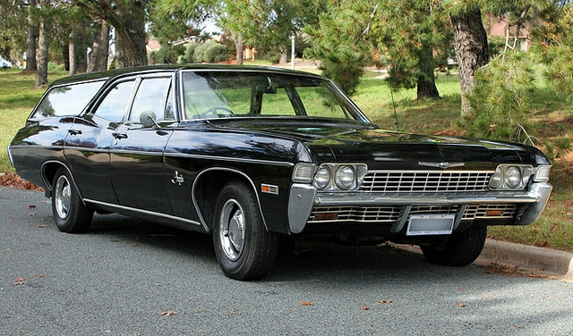 1968 Chevy Impala Hearse