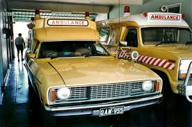 1968 Ford ZA Fairlane ambulance