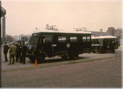 1968 Hanomag Politiebus