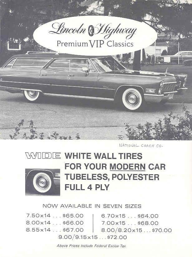 1968 Lincoln Highway Ad