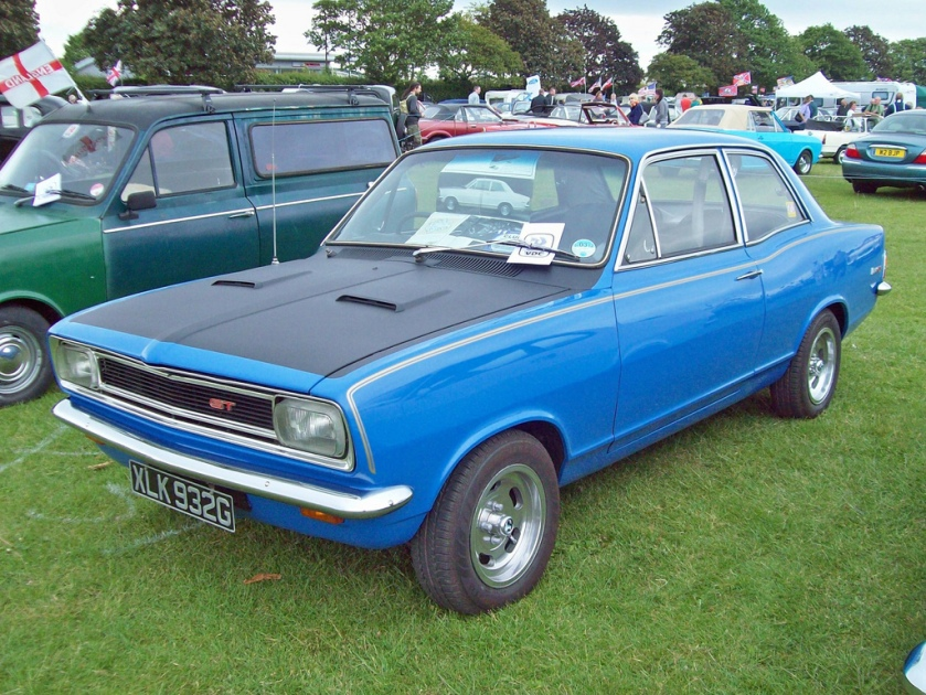 1968 Vauxhall Viva GT HB