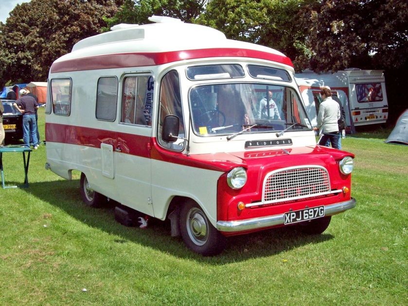 1969 Bedford CA Dormobile Debutante Engine 1594 cc Perkins Diesel Registration Number XPJ 697 G