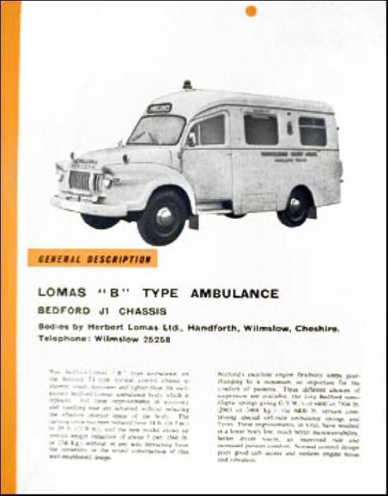 1969 Bedford J1 Lomas B Type