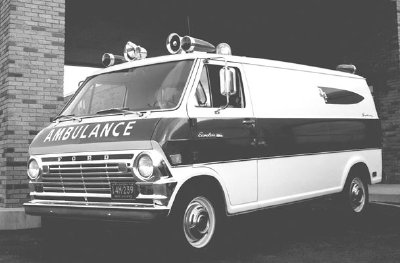 1969 Ford E-Series ambulance