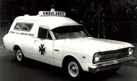 1969 Ford XR Ambulance