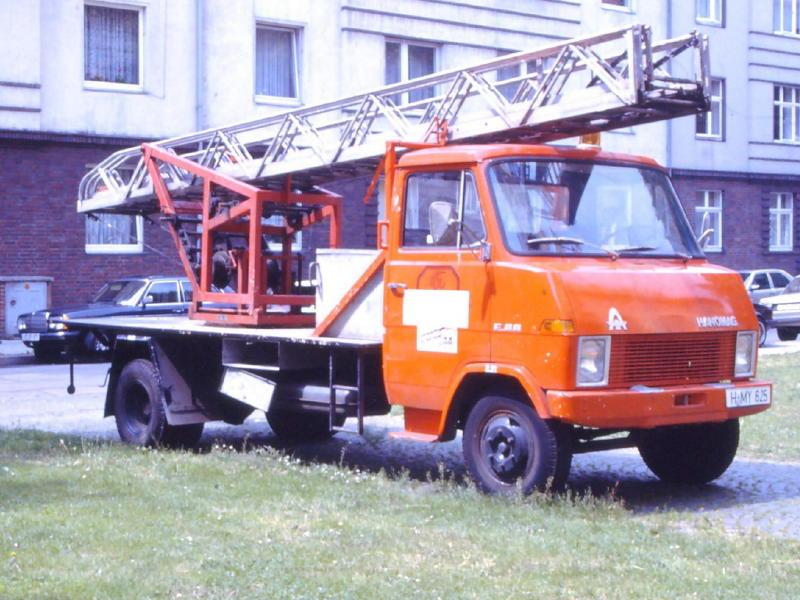 1969 Hanomag Drehleiter
