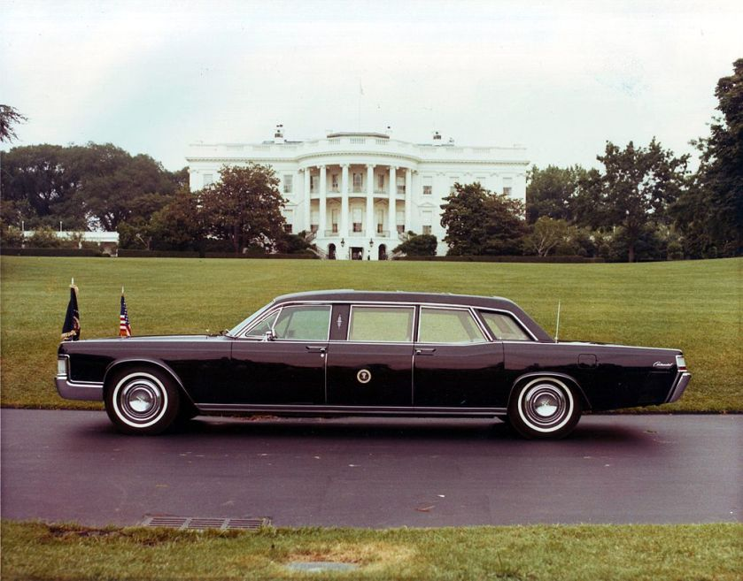 1969 Lincoln Continental used by Richard Nixon