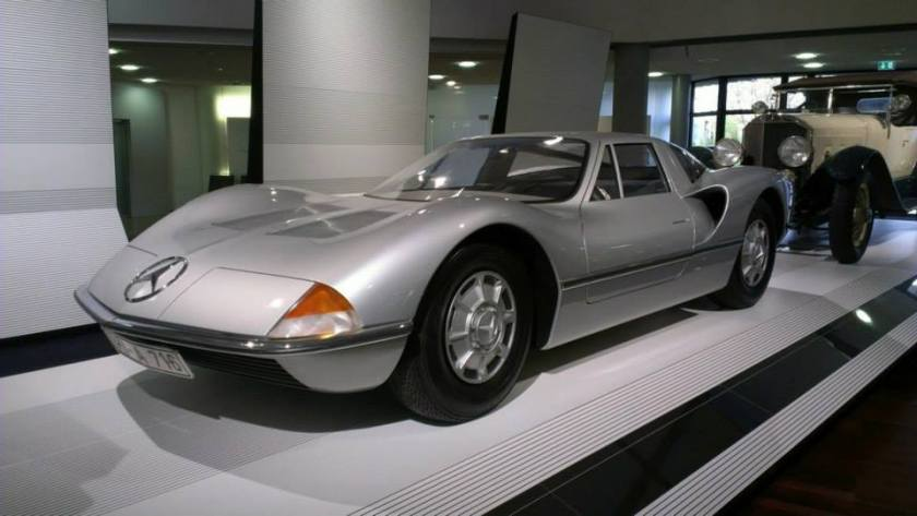 1969 Mercedes-Benz C111 Design Studie by Bruno Sacco