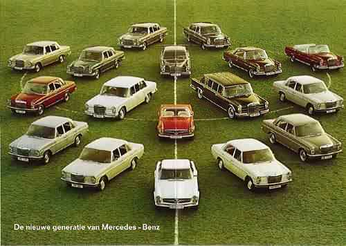 1969 Mercedes-Benz family portrait