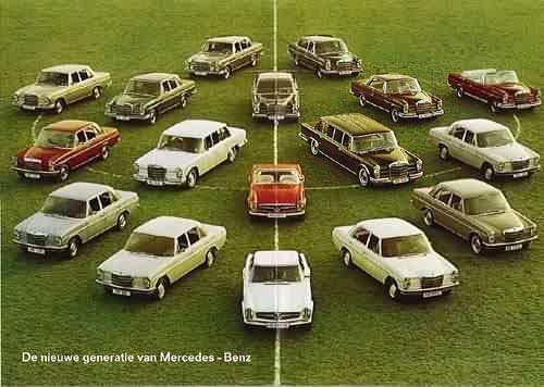 1969 Mercedes-Benz family portrait
