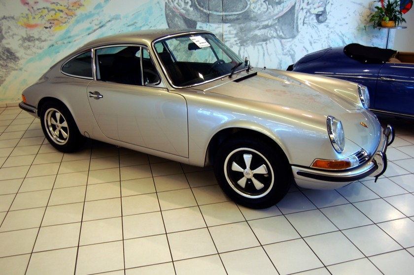 1969 Porsche 911 E at Auto Salon Singen, Germany.