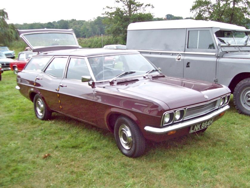 1969 Vauxhall Victor FD Estate Engine 2300cc
