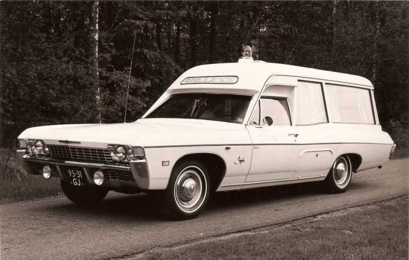 1970 Ambulance Chevrolet 95-31-GJ