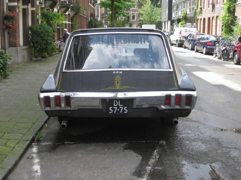 1970 CHEVROLET Impala Hearse