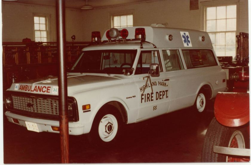 1970 Chevrolet Suburban Ambulance