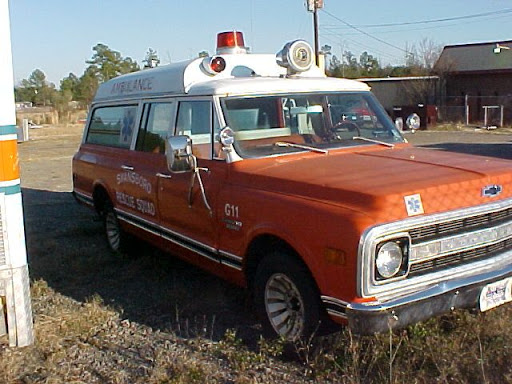 1970 Chevy Ambulance a