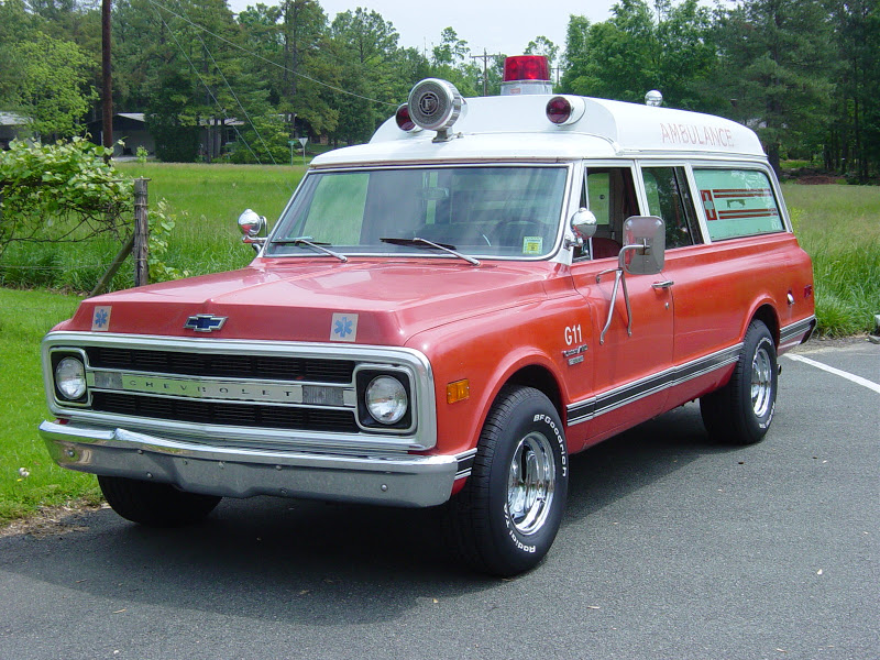 1970 Chevy Ambulance b