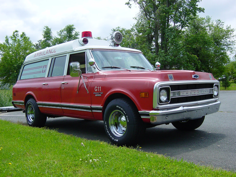 1970 Chevy Ambulance c