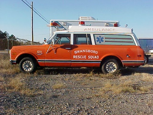 1970 Chevy Ambulance