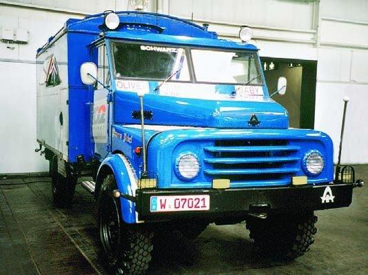 1970 Hanomag l AL28А, 4x4