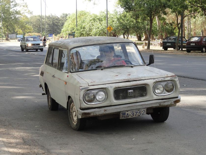 1970 NSU P10, made by Nordex S.A. in Uruguay