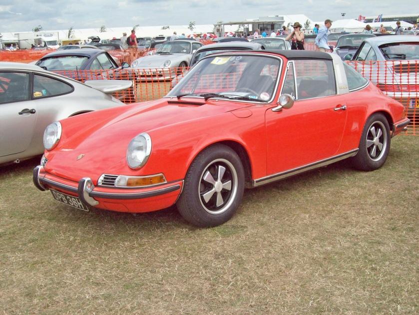 1970 Porsche 911 Targa Engine 2195cc
