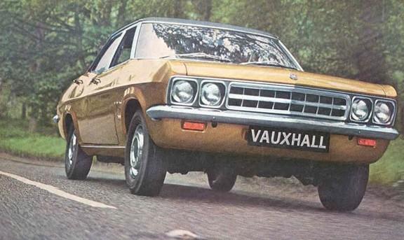 1970 vauxhall ventora 2 gold 4d
