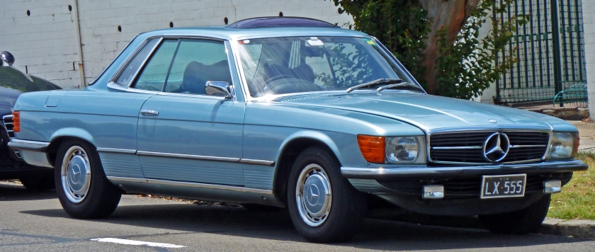 1971-76 Mercedes-Benz 350 SLC (C107) coupe