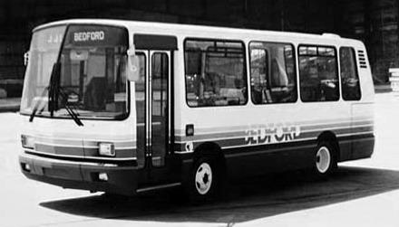 1971 Bedford JJL midibus