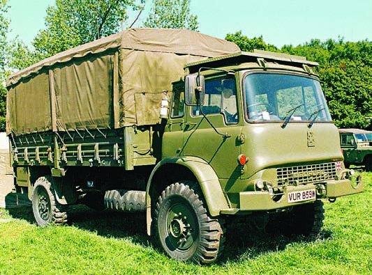 1971 Bedford MK (FV-13801), 4x4