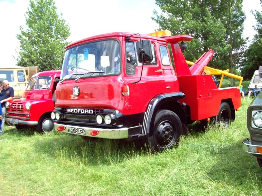 1971 Bedford TK Recovery Truck YRD 882K