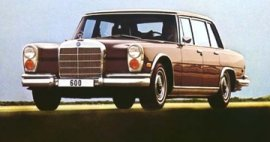 1971 Mercedes Benz 600-Series 600 Sedan
