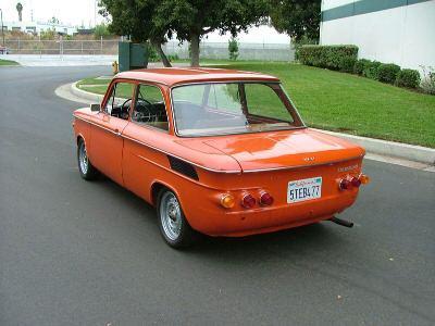 1971 NSU 1000C achterzijde