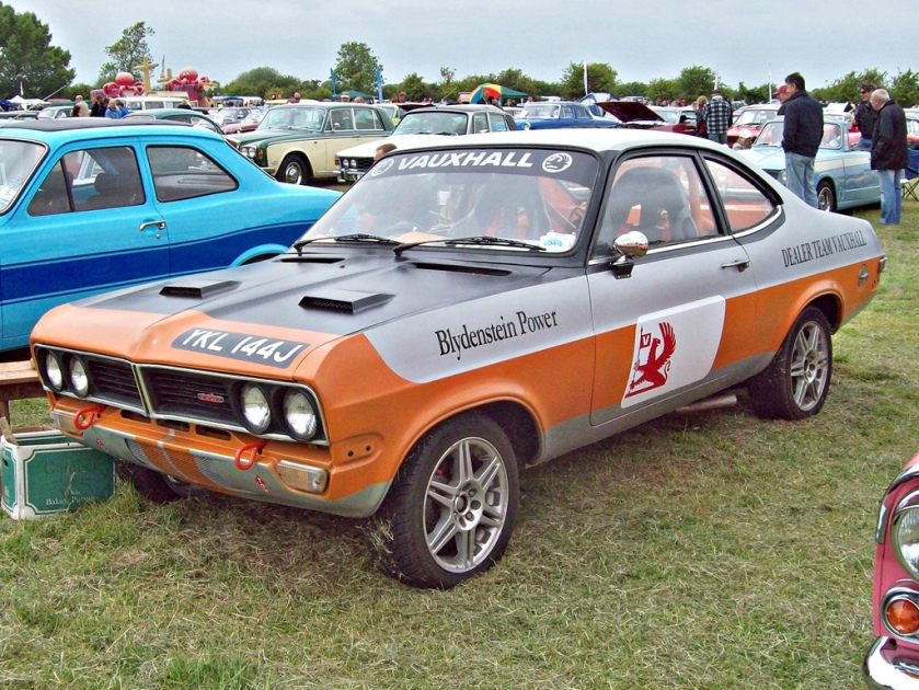 1972-73 Vauxhall Firenza Sports SL Coupe