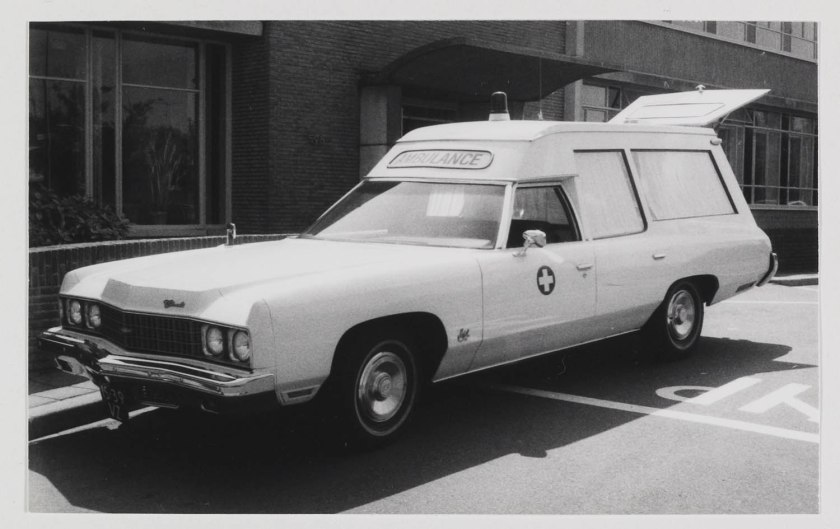 1972 Ambulance Chevrolet Impala