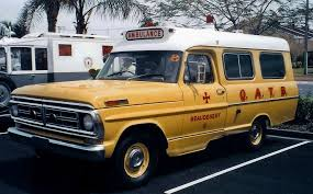 1972 Ford F-100 ambulance a