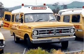 1972 Ford F-100 ambulance b