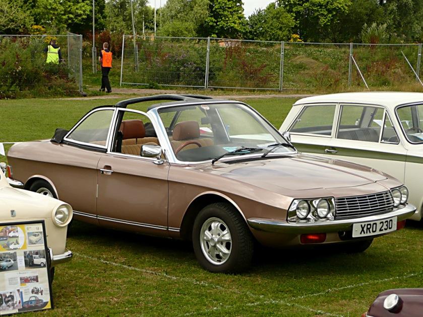 1972 NSU RO 80 targa XRO 230