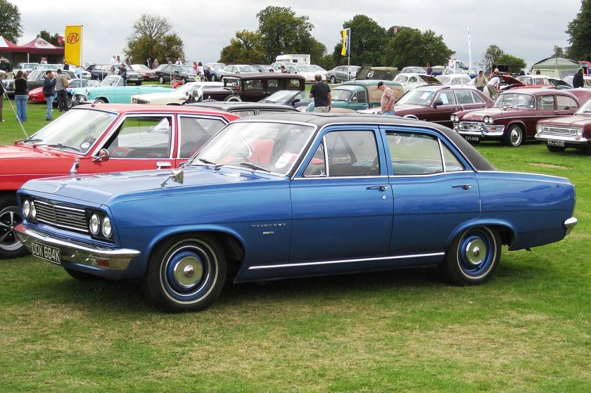 1972 Vauxhall Viscount 3300cc