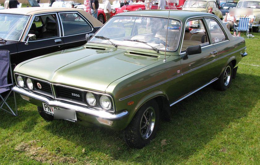 1973-78 Vauxhall Magnum 2300