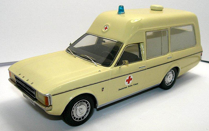 1973 Ford Granada Ambulance