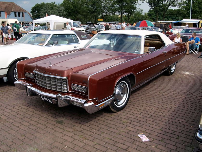1973 Lincoln Continental hardtop coupe