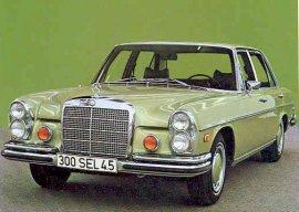1973 Mercedes Benz 300SEL 4.5