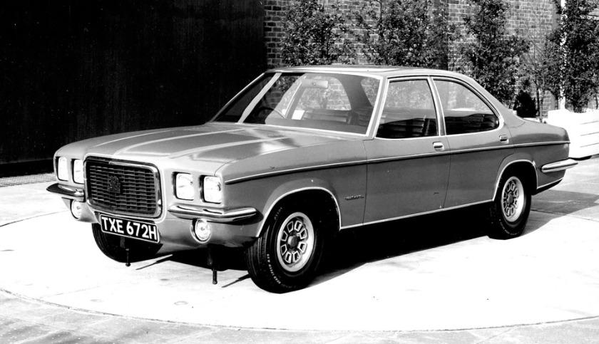 1973 Vauxhall Silver Bullet