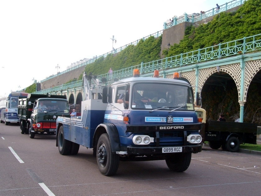 1974 Bedford KM Recovery